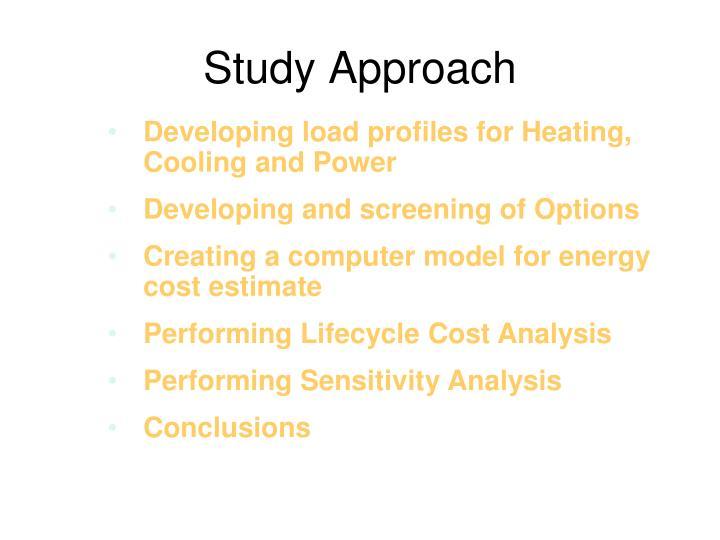 Study Approach