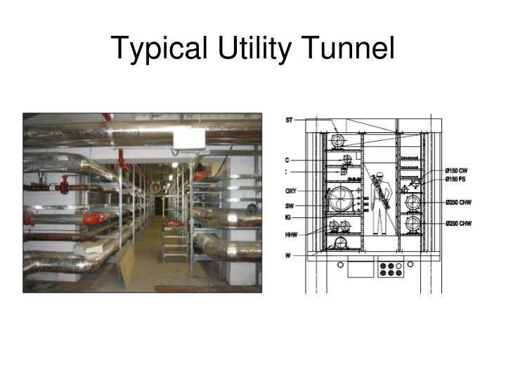 Typical Utility Tunnel