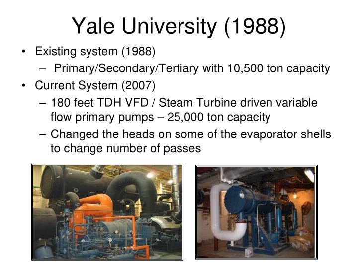 Yale University (1988)