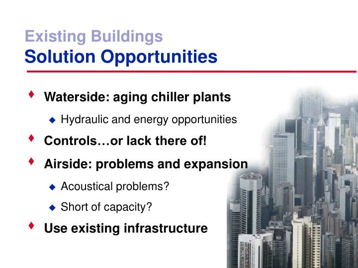 Existing Buildings