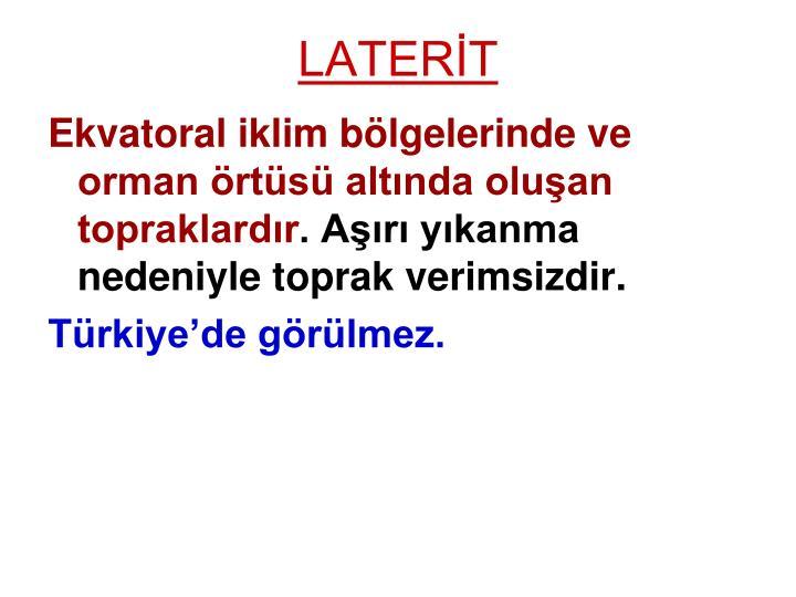 LATERİT