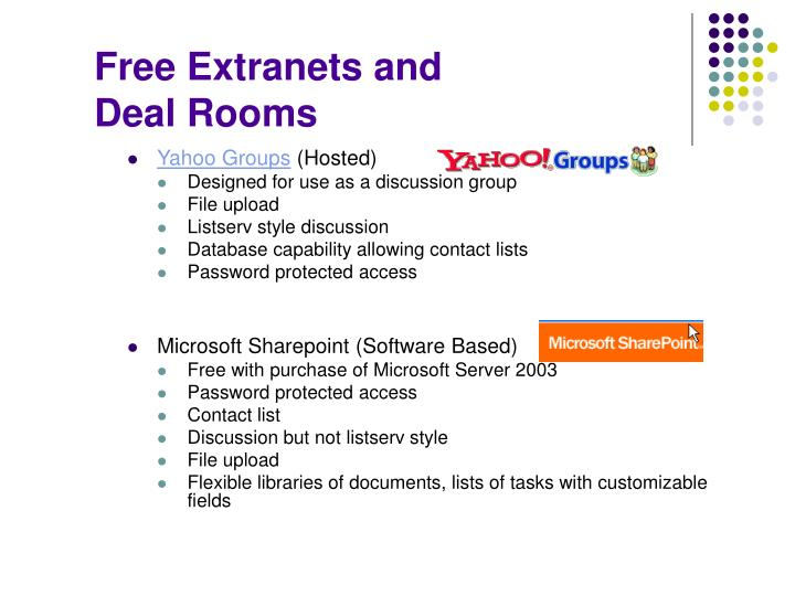 Free Extranets and