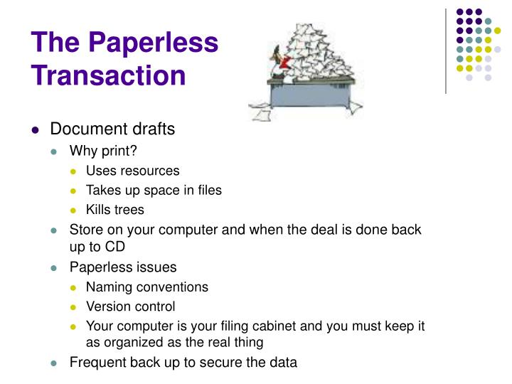 The Paperless