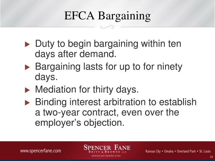 EFCA Bargaining