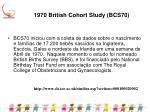 1970 british cohort study bcs701