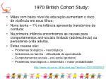 1970 british cohort study
