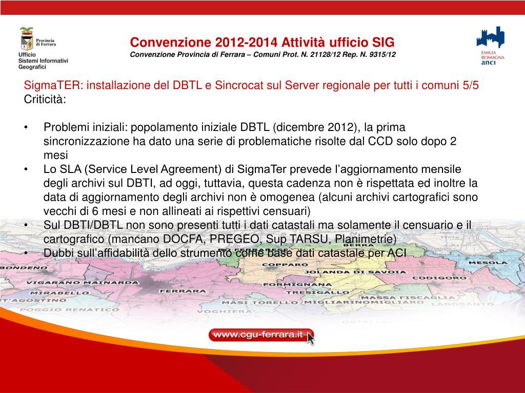 Ppt Incontro Con I Comuni Ferrara 9 Maggio 2013 Ore 10