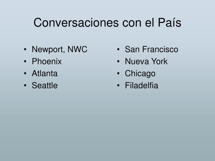 Conversaciones con el País