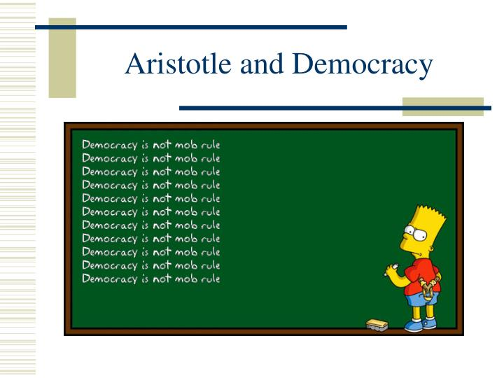 aristotle and democracy n.