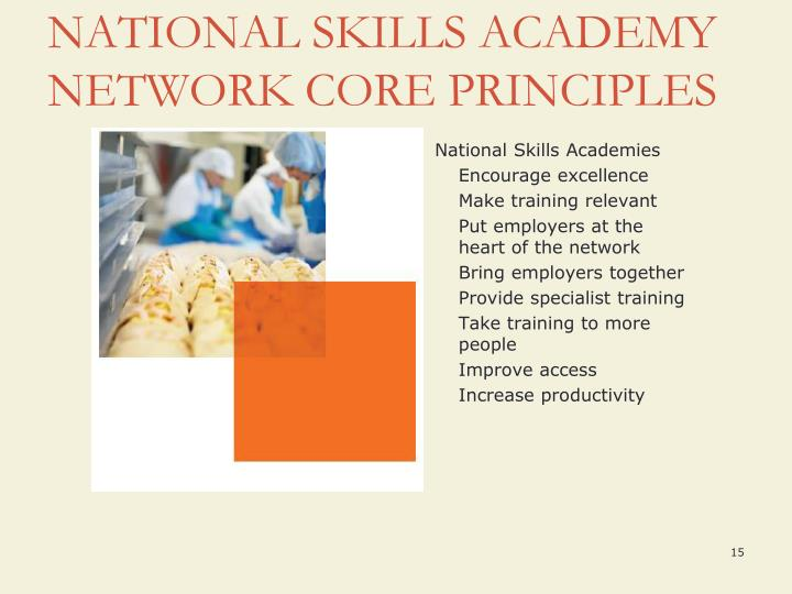 National Skills Academies