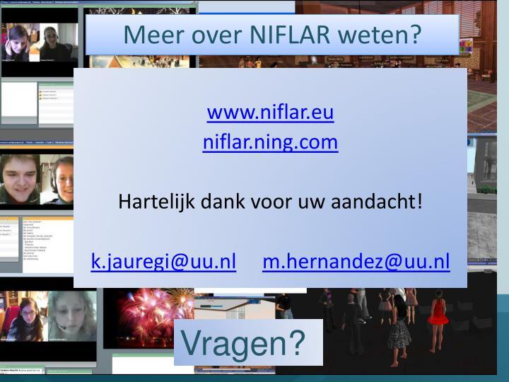 Meer over NIFLAR weten?