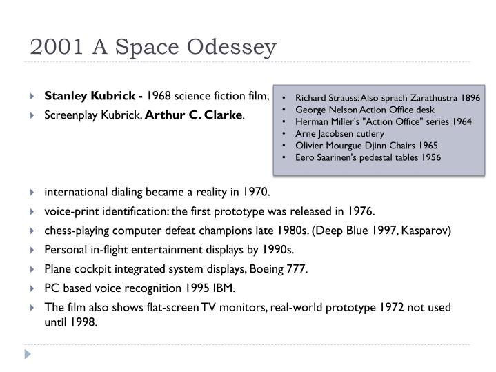 2001 a space odessey
