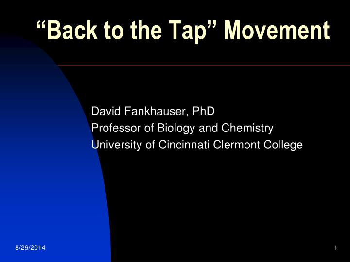 back to the tap movement n.