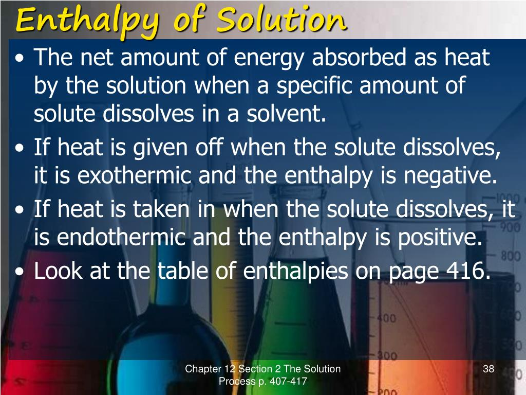 PPT - Solutions Chapter 12 Modern Chemistry PowerPoint