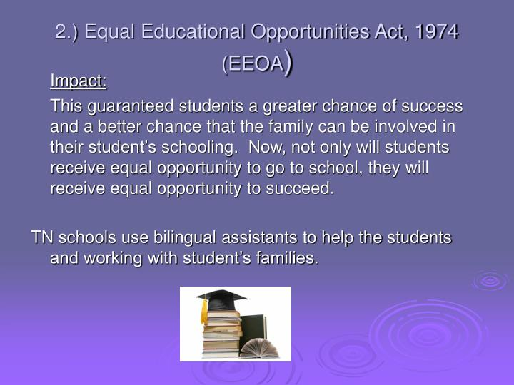 equal opportunity act 1974