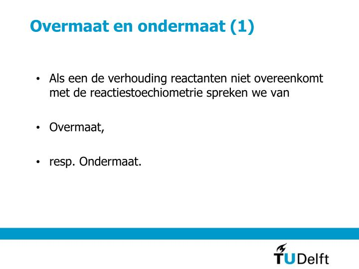 Overmaat en ondermaat (1)