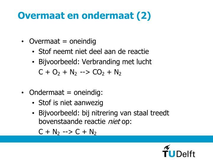 Overmaat en ondermaat (2)