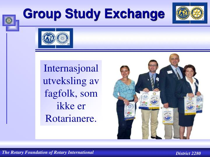 Group Study Exchange