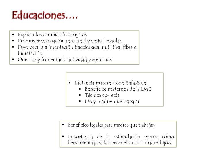 Educaciones….