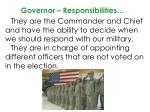 governor responsibilities1