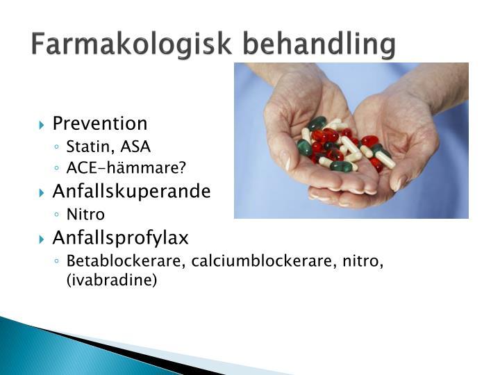 Farmakologisk behandling