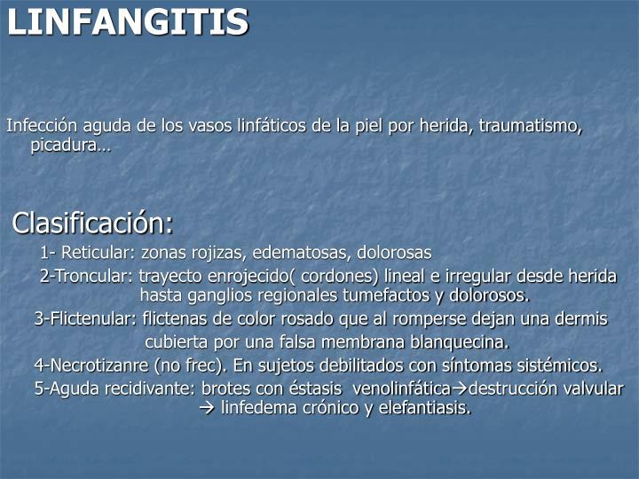 LINFANGITIS