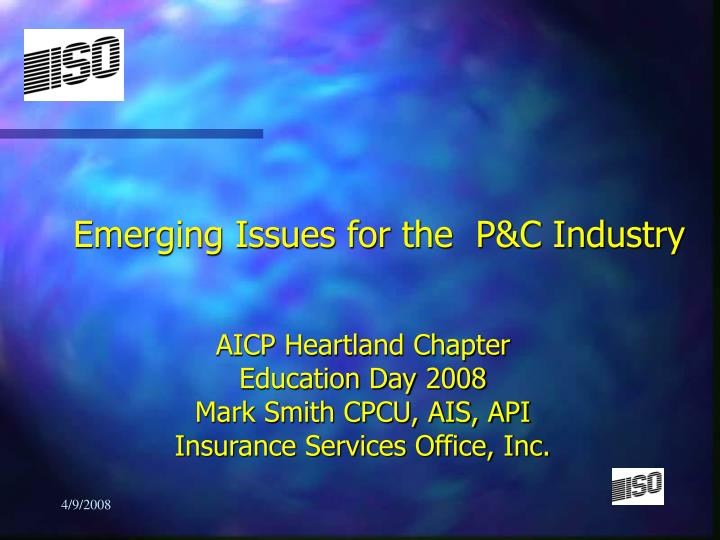 emerging issues for the p c industry n.