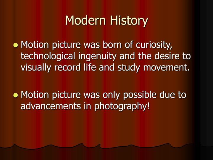 Modern history1