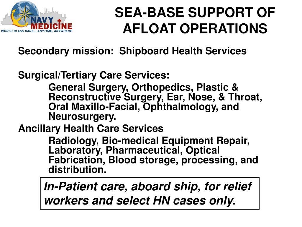 PPT - Hospital Ship Orientation for U S  Public Health