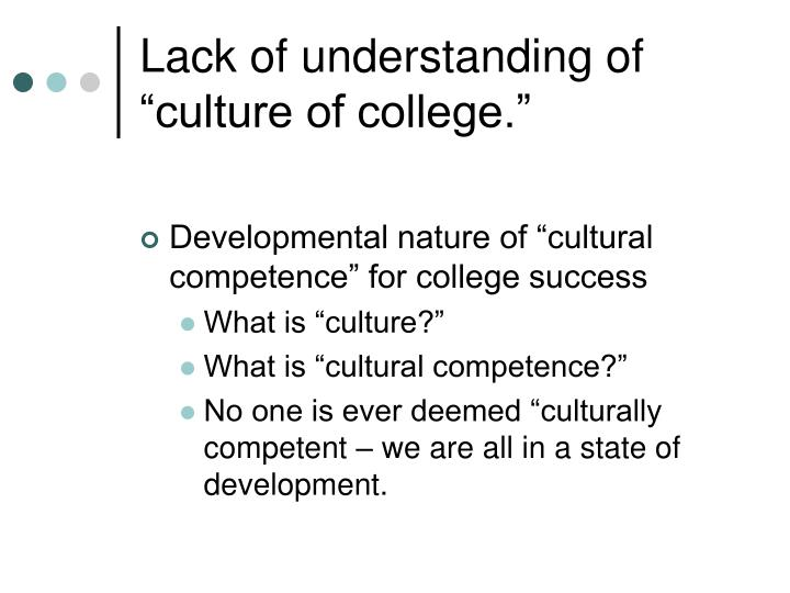 why is cultural competence and what steps we can take to increase it. Why do nurses have a moral responsibility to contiually develop culturally competent care because care that is not culturally competent is more costly and less effective nurses have a responsibility to continually develop cutural competence.