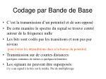 codage par bande de base
