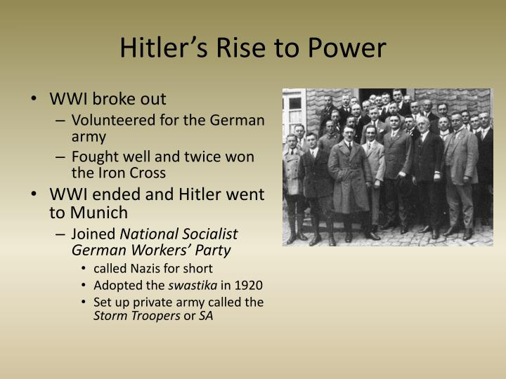 mussolini's and hitler's rise to power Mussolini allied himself with hitler in 1936 nearly 20% of italian jews were deported to death camps during the course of the war mussolini's rule caused short term gains, but devastated italy.