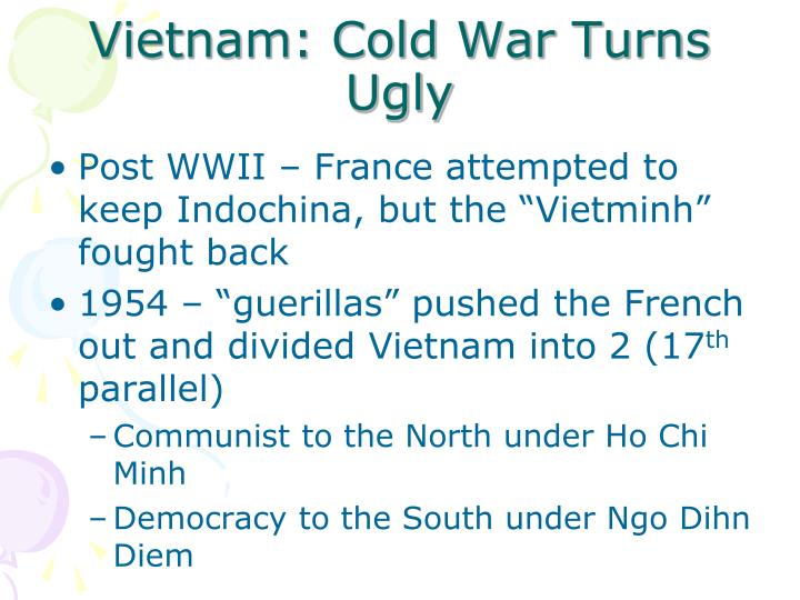education in vietnam is divided into Under the geneva accords of 1954, vietnam was divided into the communist north and anti-communist south us economic and military aid to south vietnam grew through the 1960s in an attempt to bolster the government, but us armed forces were withdrawn following a.
