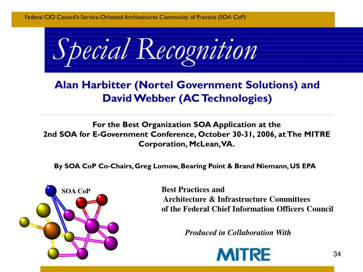 Alan Harbitter (Nortel Government Solutions) and