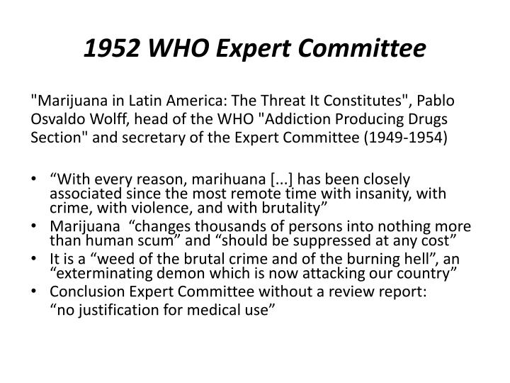 1952 WHO Expert Committee