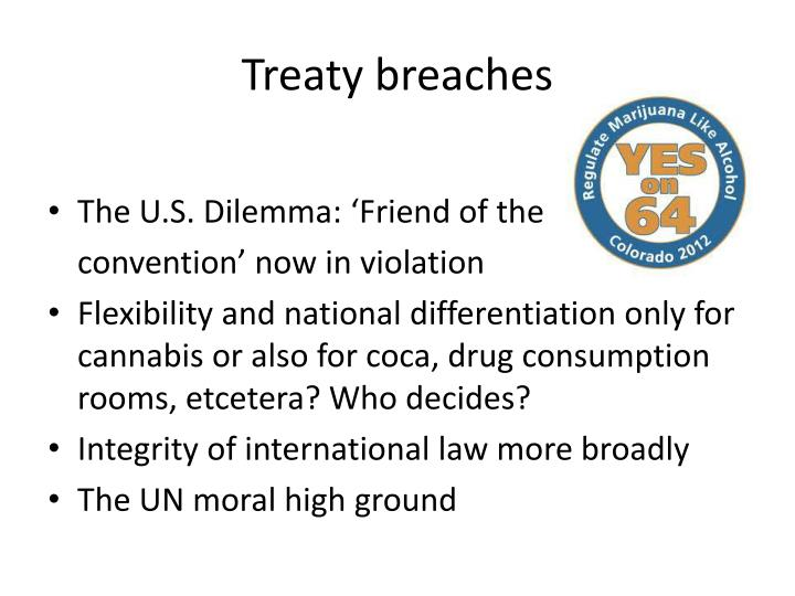 Treaty breaches