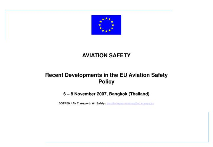 notes on faa easa and safa Ramp inspections - safa a potential safety threat on the basis of the regular analyses conducted by the european aviation safety agency easa eu safa.