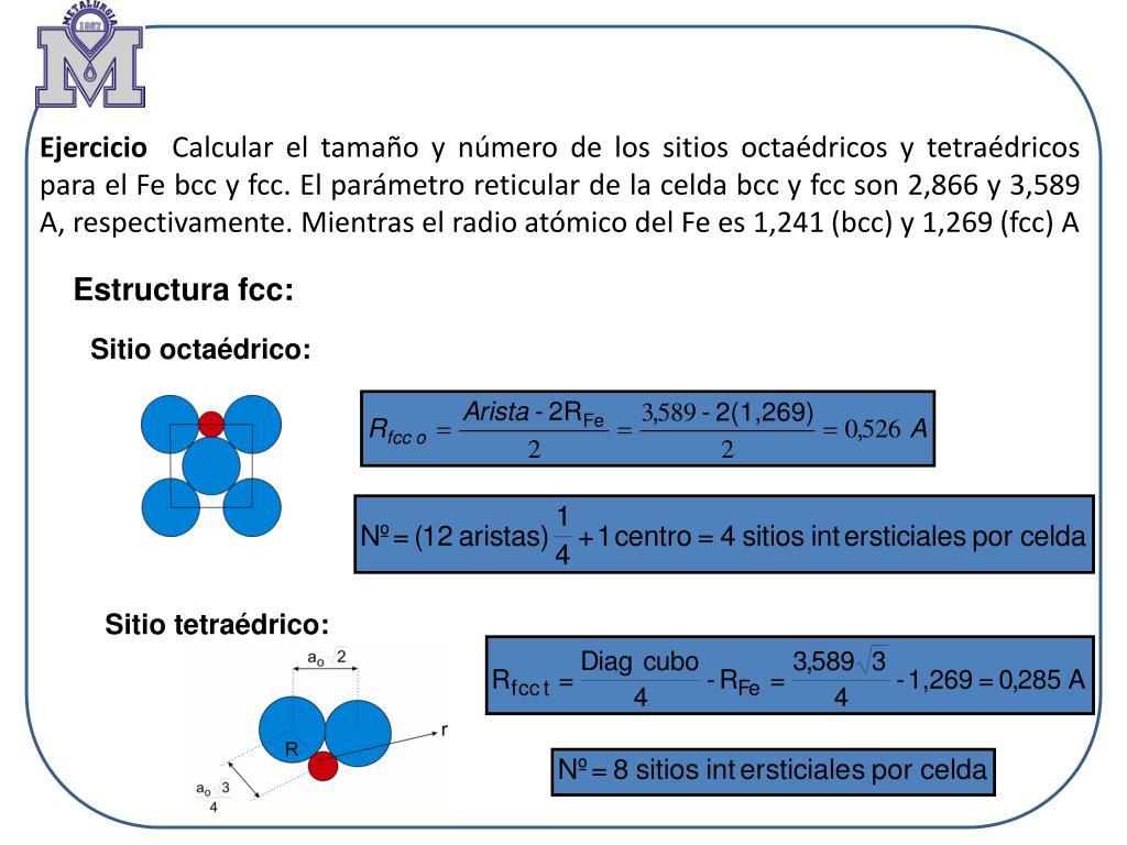 Ppt Unidad 2 Defectos Cristalinos Powerpoint Presentation