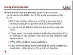 family demographics