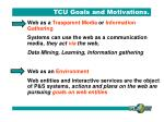 tcu goals and motivations2