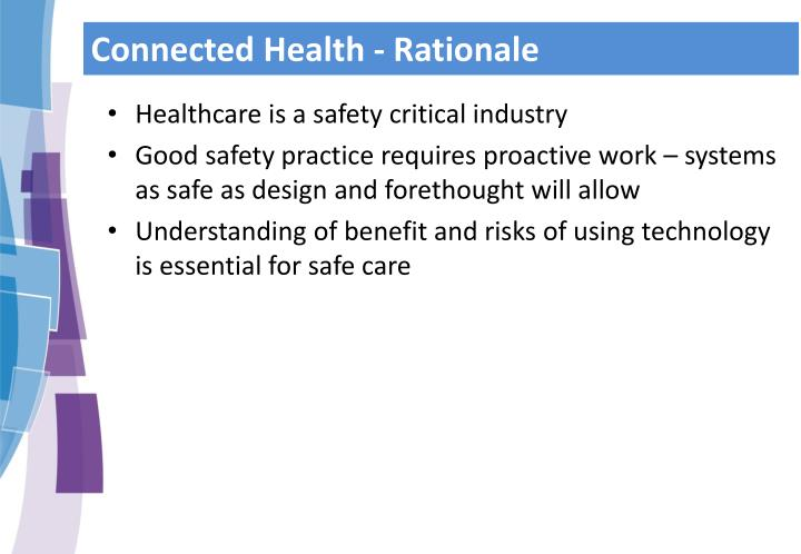 Connected Health - Rationale