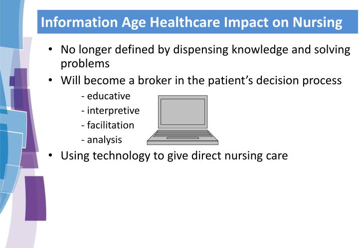 Information Age Healthcare Impact on Nursing