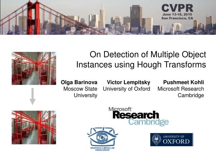 On Detection of Multiple Object Instances using Hough Transforms