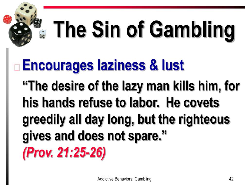 What Does The Bible Say About Betting And Gambling
