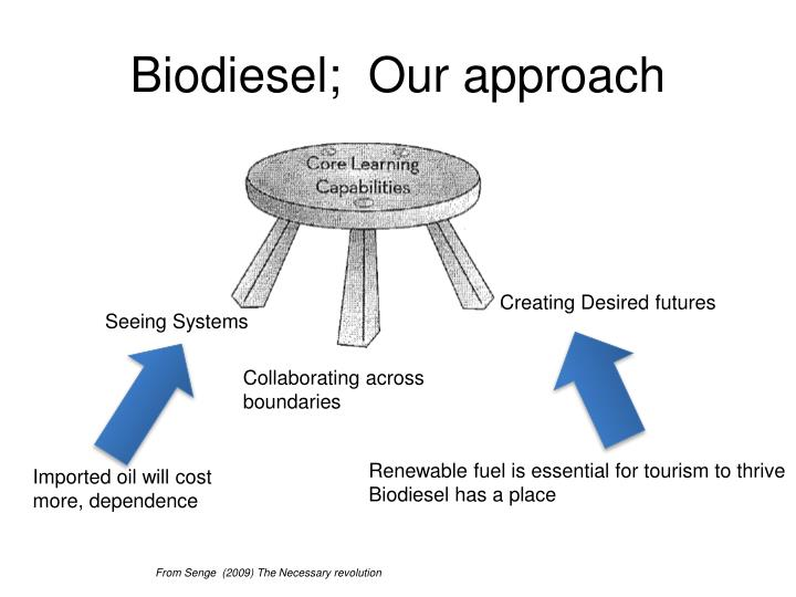 Biodiesel;  Our approach