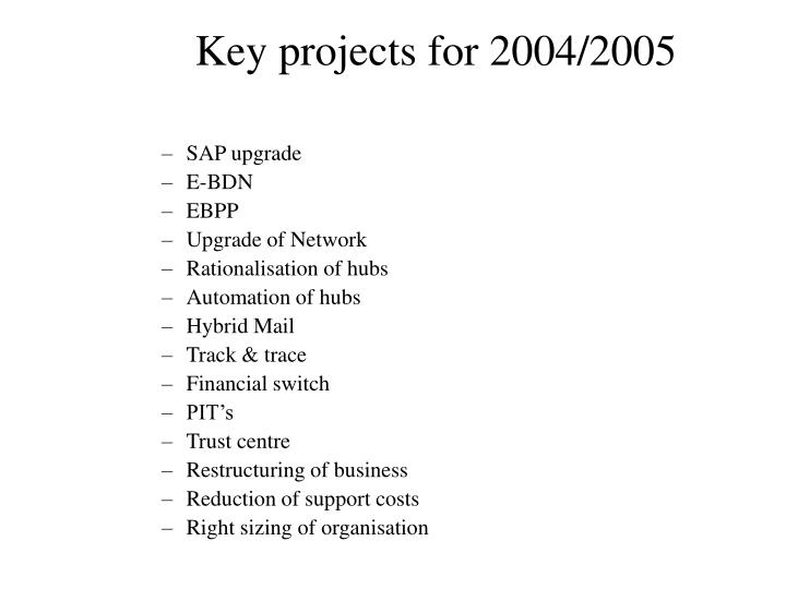 SAP upgrade