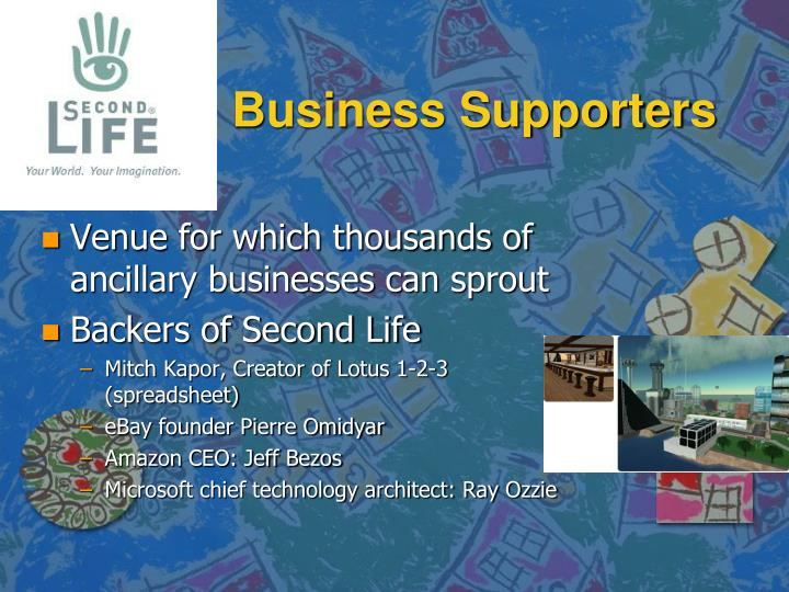 Business Supporters