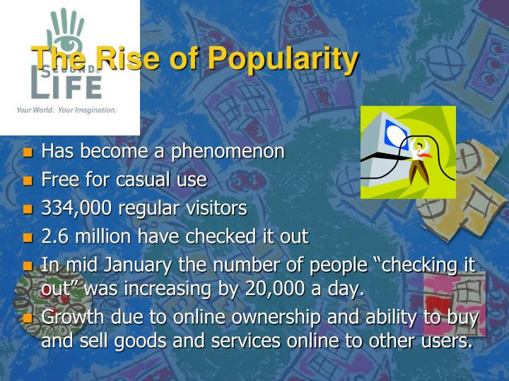 The Rise of Popularity