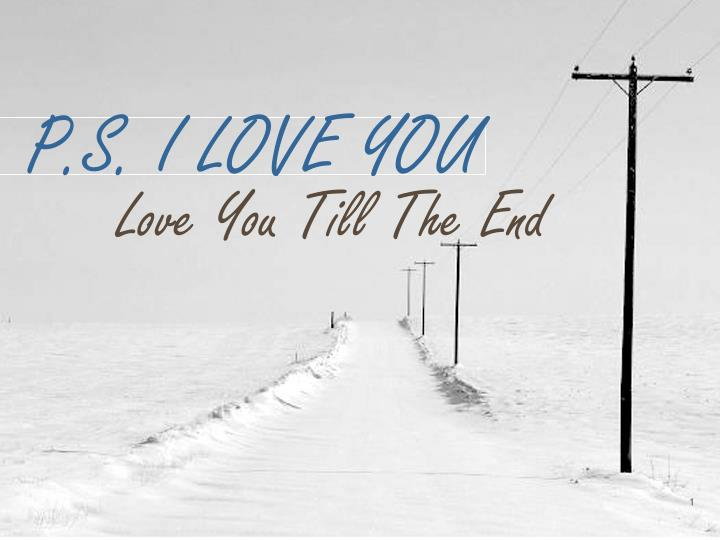 p s i love you n.