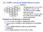 1g amps advanced mobile phone system fdma
